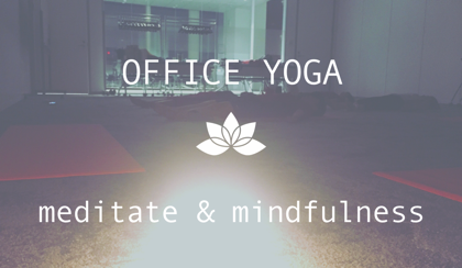 Burner office yoga