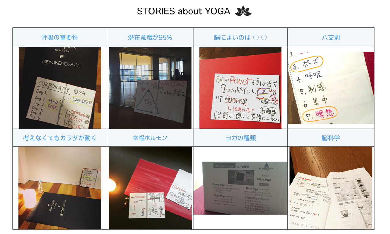Stories about yoga