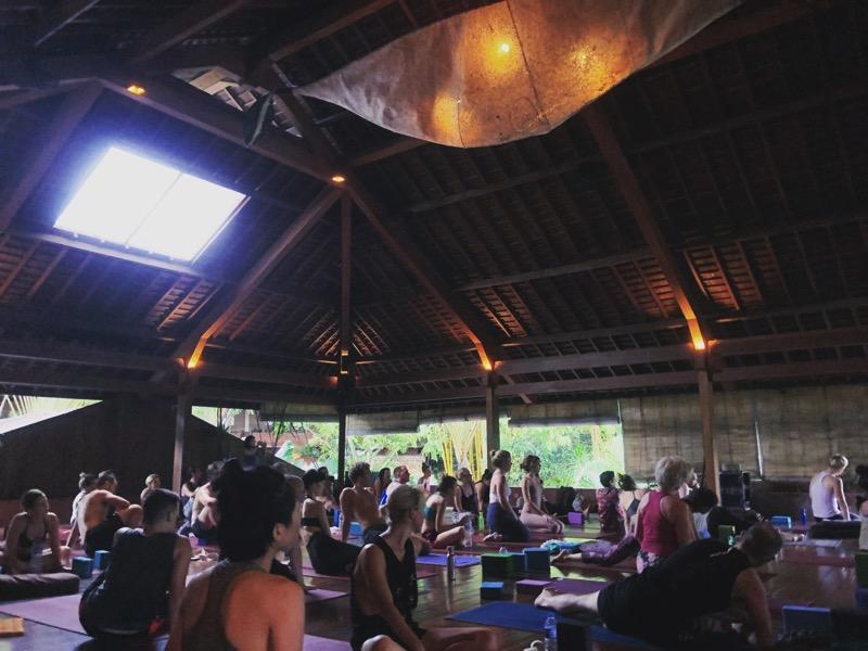 Bali studio yogabarn