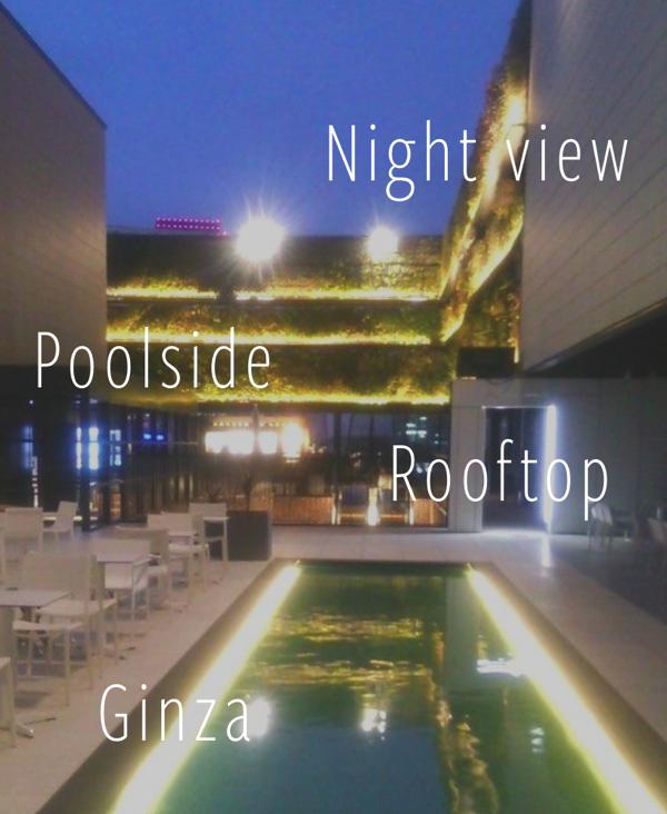 Ginza class pool