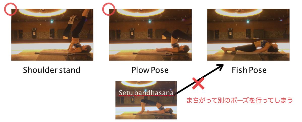 Matsyasana setubandhasana